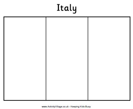 photo about Printable Italy Flag called Italian Flag Visuals Printable